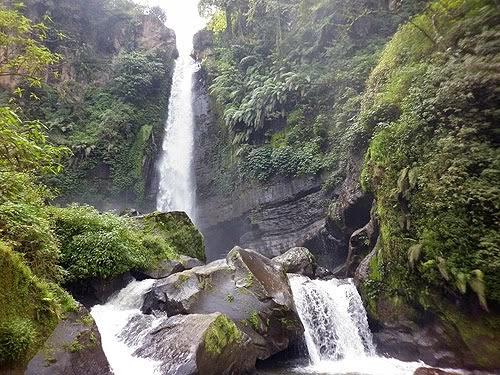 Wisata Air Terjun Coban Rondo Pelangi di Malang Jawa Timur
