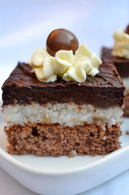 Cokoladovo-kokosove kocky