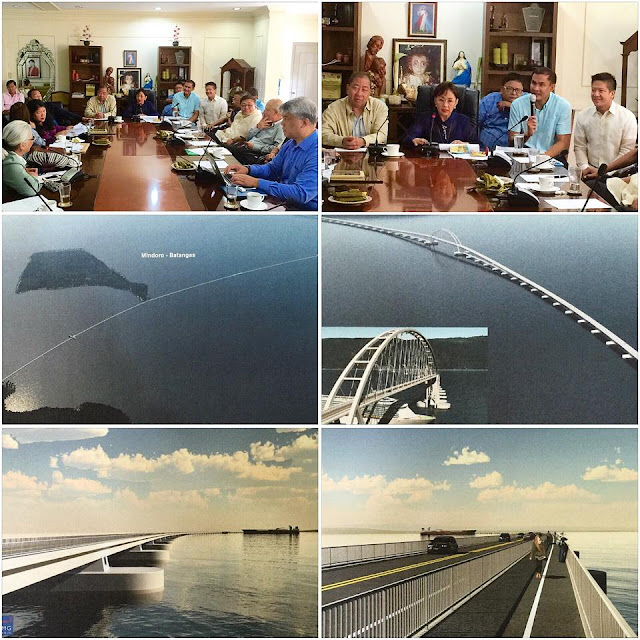 Proposed Super Bridge to connect Batangas and Mindoro