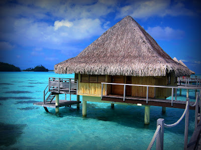 (Tahiti) – Bora Bora Island - Pearl of the Pacific