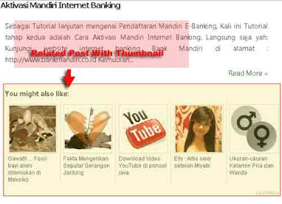 Membuat Related Post LinkWithin