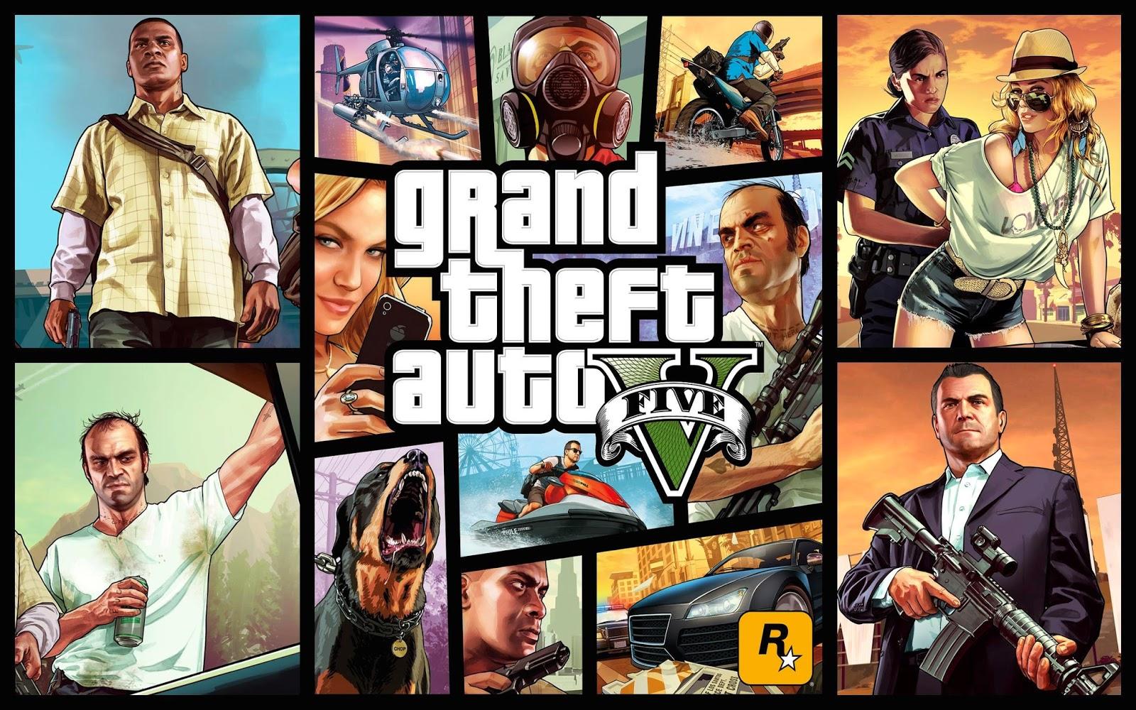 Spesifikasi PC untuk Grand Theft Auto V (Rockstar Games)