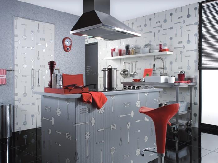 Papel pintado para la cocina - Papel pintado en la cocina ...