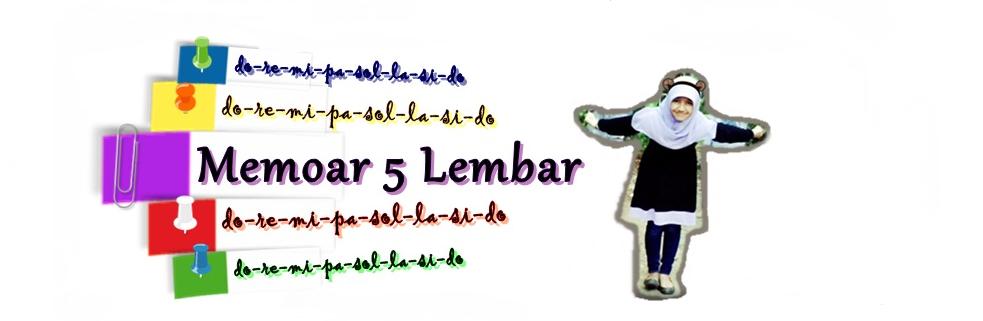 Memoar 5 Lembar