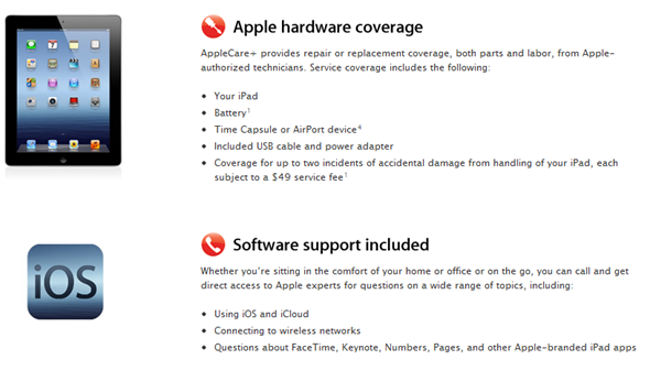 Apple care plus warranty image