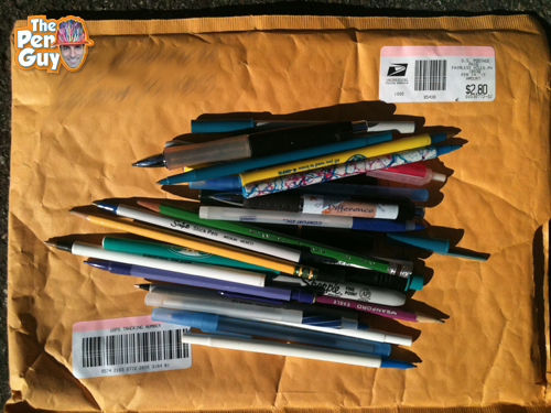 The Pen Guy - Pen Donation - Recycle Pens