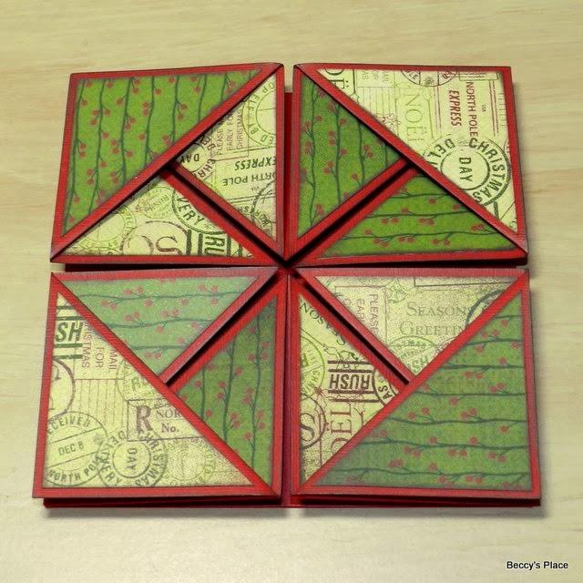 beccy 39 s place tutorial serviette napkin fold cards. Black Bedroom Furniture Sets. Home Design Ideas