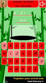 Game Android Hangman Indonesia - Tebak Kata Apk