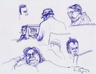 Ballpoint Pen Sketch3