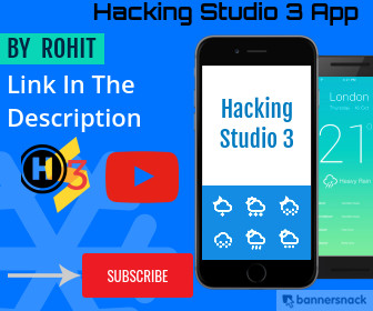 HackingStudio3 App
