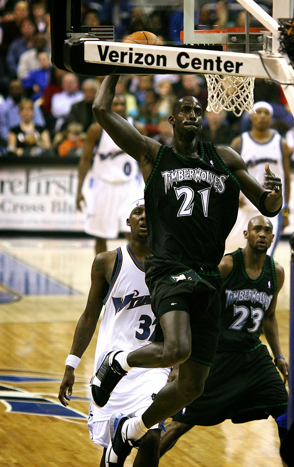 Kevin Garnett Dee Brown Juwan Howard Ronnie Fields…just who was