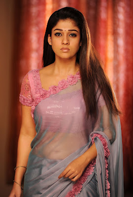 Nayantara Hot in sari from Love Story