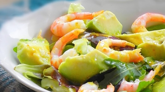 Salade Avocat Et Crevettes