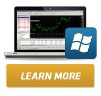 Metatrader 4 berbasis Windows OS untuk  penggunaan di komputer dan notebook.
