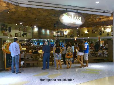 Oliva Gourmet: fachada da loja do Salvador Shopping