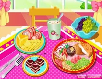 Verduras, legumes e frutas.