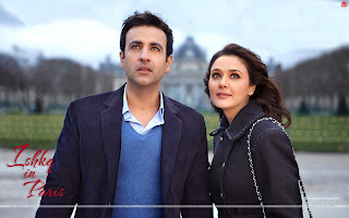 Ishkq In Paris HD Wallpaper Starring Preity Zinta, Rhehan Malliek