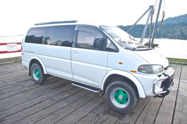 1996 Mitsubishi Delica 4x4 Van For Sale
