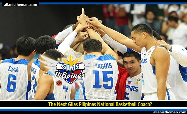 The Next Gilas Pilipinas National Basketball Coach?