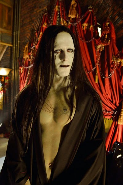 Jack Kesy as transformed Gabriel Gabe Bolivar in The Strain Season 1 Episode 3 Gone Smooth