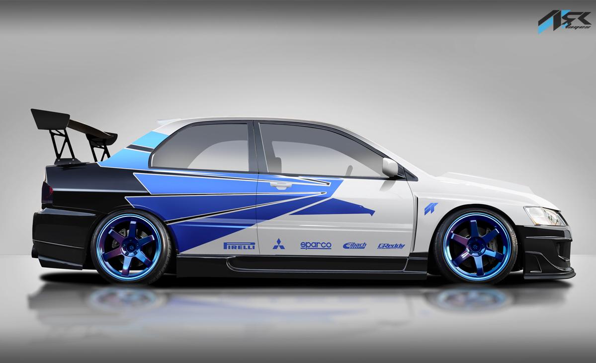 Mitsubishi Lancer Evo Ixon Fast And Furious Volkswagen Jetta