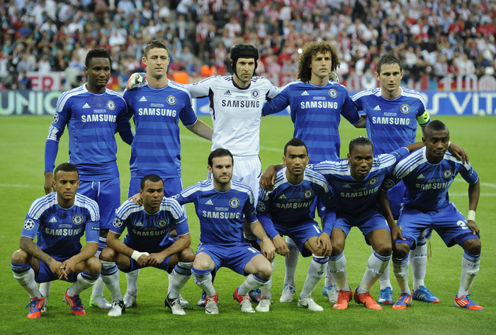 Image result for chelsea 2012 champions league squad picture