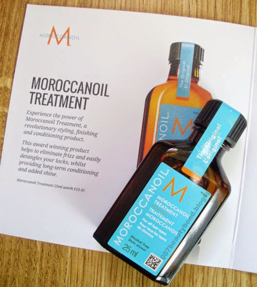 Moroccanoil Treatment lfbeautybox look fantastic beauty box february 2015