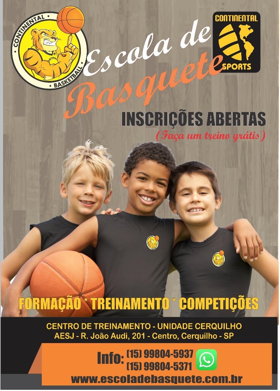 Escola de Basquete em Cerquilho