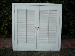 wood shutters...SOLD