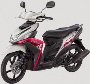 Yamaha Mio M3 125 Blue Core Warna Tweet Magenta