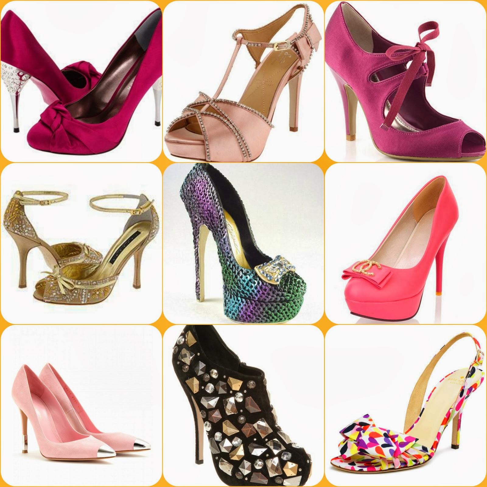 Inolvidables 15 fiestas de 15 vestidos quincea eras inolvidables 15 zapatos para fiesta de 15 - Zapatos collage ...