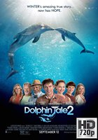 La Gran Aventura de Winter el Delfín 2 (2014) BRrip 720p Latino-Ingles