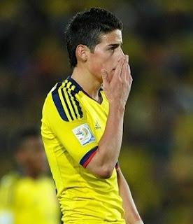 James Rodríguez no sería convocado por Colombia