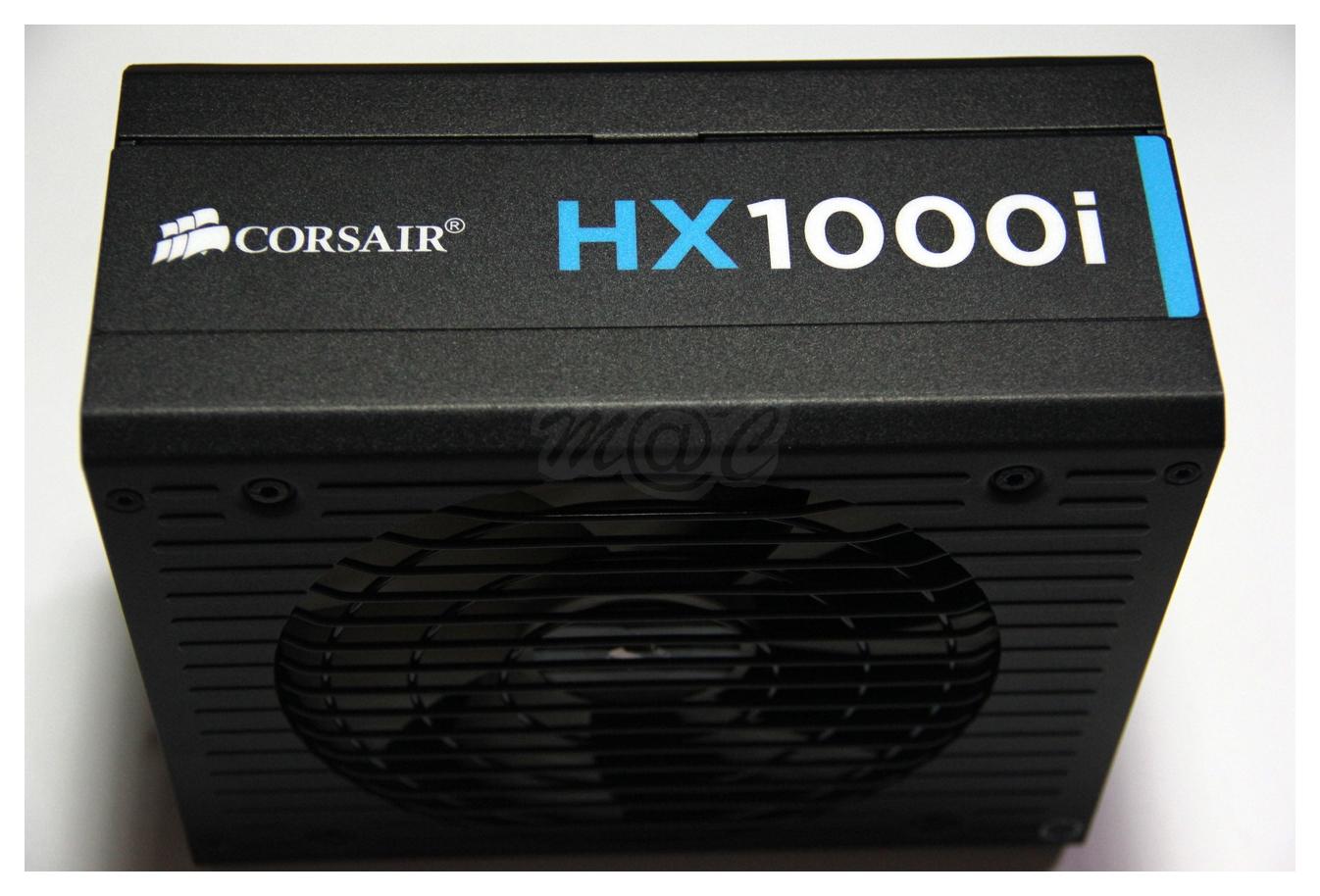 The Corsair HX1000i Platinum Power Supply - A Photo Guide ...