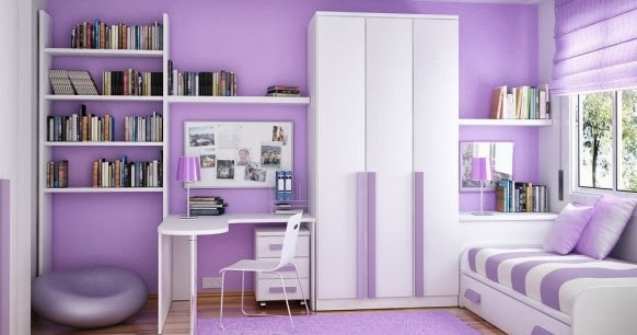 desain kamar anak ungu muda desain rumah rumah