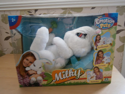 Milky the bunny by flair emotions pet
