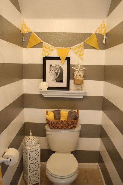 Arte Brentan Decoração  6 Idéias de Amarelo no Banheiro -> Decoracao De Banheiro Amarelo