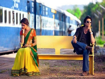 SRK with Deepika