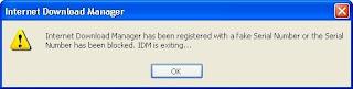 Cara Mengatasi IDM yang Diblokir Karena Terdeteksi Fake Serial
