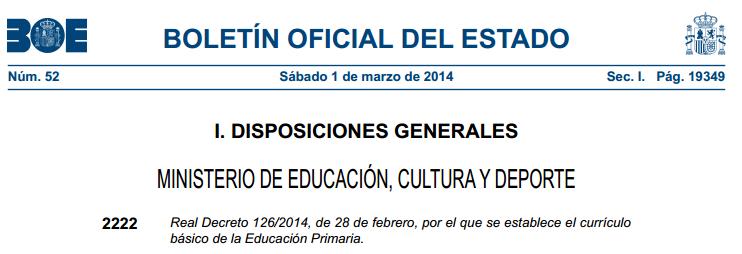 Curriculum Ed.Primaria