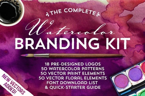 The Watercolor Branding Kit