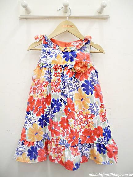 moda infantil 2014 vestidos niña