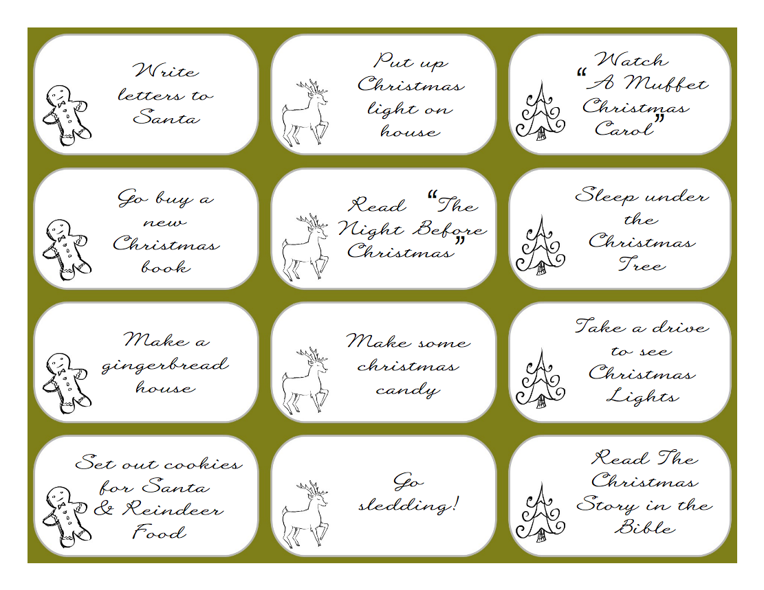 ... up to, Christmas Advent Printables, & Magic Reindeer Food Printables