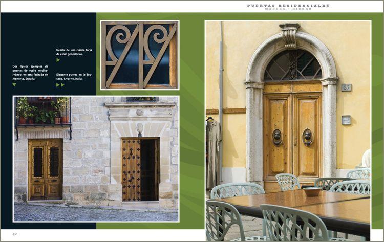 Puertas y portones residenciales 1 tomo ediciones daly for Puertas de hierro y madera