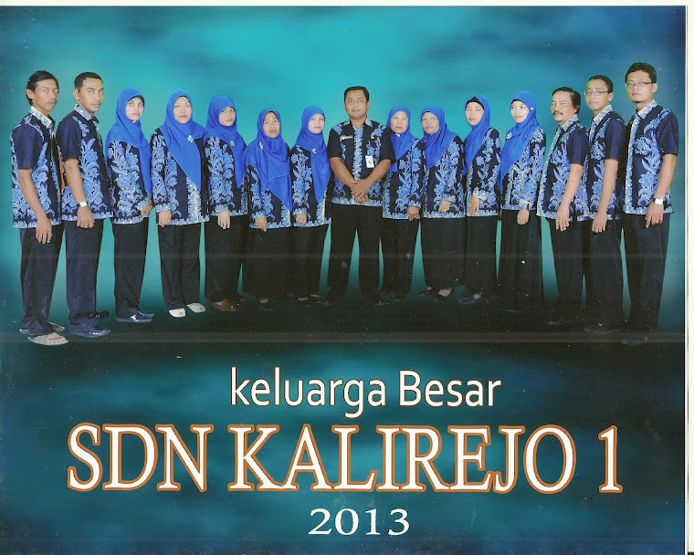 dewan guru SDN kalirejo 1