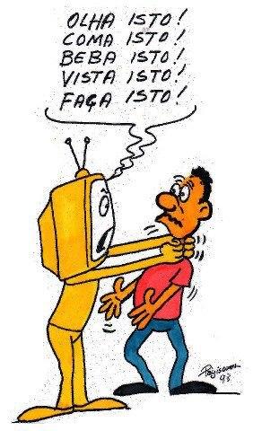 MUITOS MEIOS  DE COMUNICAÇÃO QUERENDO A FORÇA   NO ANUNCIO COM COMPRA  FORÇADA