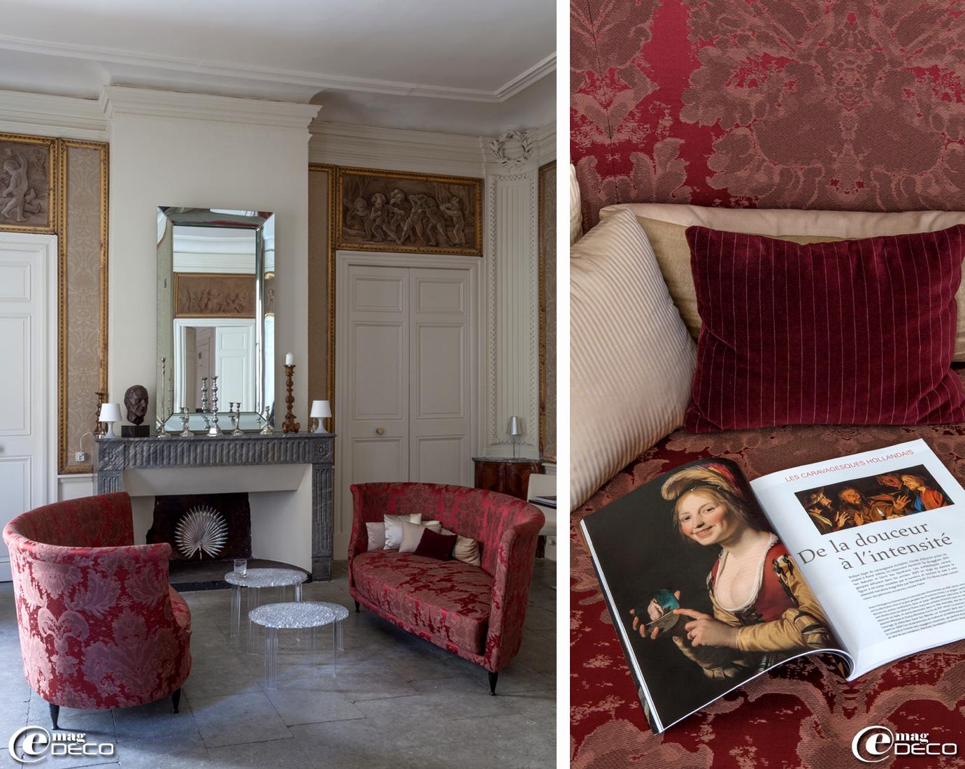 Baudon de mauny e magdeco magazine de d coration for Miroir grande demeure