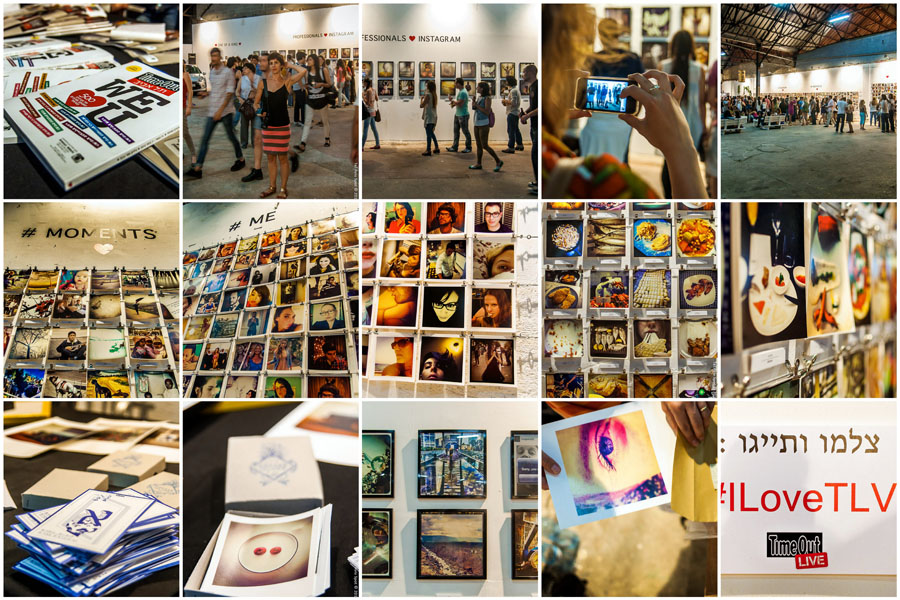InstaArt Exhibition of Instagram Photos | TLVSpot.com