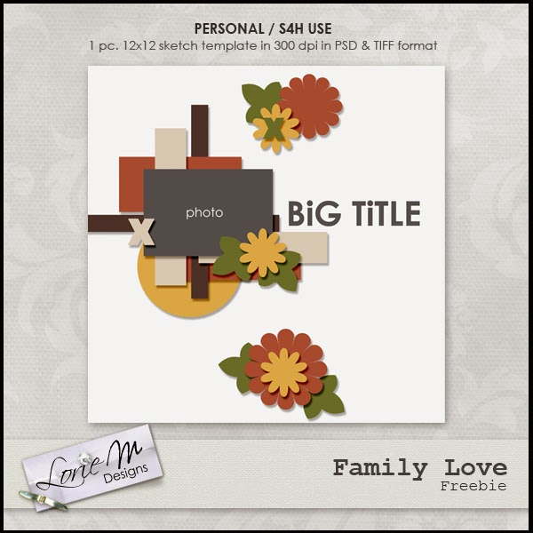 New Family Love Collection, $1.00 each, FWP Offer and Freebie