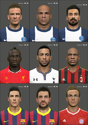 PES 2014 International Facepack v0.2 by Tunizizou
